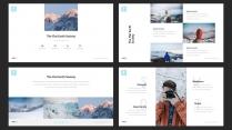 【浮生若梦】冬日性冷淡杂志模板示例4