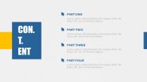 【轻设计】简约但实用的商务素色模板16示例3
