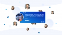 【商务】白蓝扁平化超实用主义通用模板12示例5