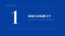 【商务】白蓝极简线条超实用主义通用模板3示例3