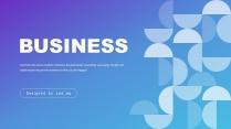 渐变几何公司介绍企业宣传总结报告商务通用