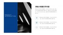 簡。」藍白簡約商務匯報模板示例4