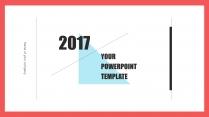 (设计感)小清新商务时尚汇报PPT模板