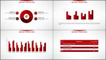 大气美观红色企业公司工作总结PPT模板示例7