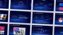 【动画PPT】红蓝科技大气商务模板(双色)47.0