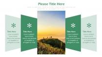 【绿色】欧美简约实用商业计划书项目报告示例5