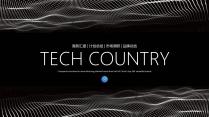 极简点线科技互联网公司企业产品项目工作PPT(二)