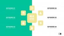 【扁平化】Material清新设计&毕业论文答辩示例6