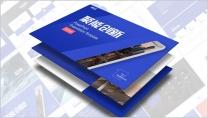 聚能创新科技蓝大气视觉化高端简约商务通用PPT