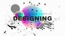 【几何艺术】创意抽象现代商务汇报工作总结多用途模板