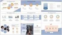 【淡雅简约】清新几何商务报告个人介绍课件展示模板示例4