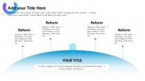 【未来之瞳】天蓝色经典质感报告模板4示例5