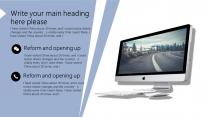 【淡雅简约】清新几何商务报告个人介绍课件展示模板示例5