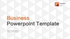 简洁大气明快醒目橙色商务通用PPT模板示例2
