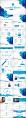 蓝色科技IT互联网公司企业商务工作PPT模板示例8