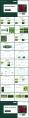 绿色大气杂志风商务汇报模板示例3