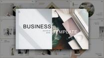 (004)文艺极简清新高级商务汇报PPT模板
