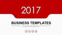 2017工作总结暨未来计划通用设计PPT模板二示例2