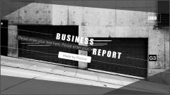 【010】簡約大氣黑白商務模板