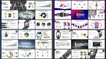 4 IN 1 # 欧美 杂志风 创意数据模板合集示例4