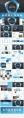 大气蓝色简约公司企业汇报PPT模板示例8