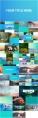 【动画】优雅清新的相册展示照片墙动画PPT模板示例7