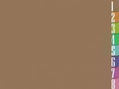 简洁明快的色块商务PPT模板