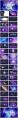 【渐变】梦幻星云绚烂色彩ppt模板示例3