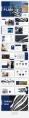 【简约商务】深蓝大气商务风简约杂志PPT模板示例5