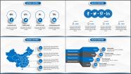 【经典·精致】蓝色经典商业/商务工作通用PPT模板示例7