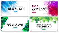 【清新简约】工作计划商务汇报多用途模板(含四套)