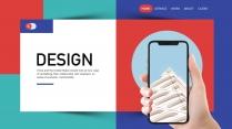 【极致商务】多彩创新公司企业产品发布品牌推广PPT