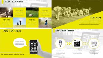 实用且时尚 黄色主题商务PPT示例4