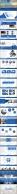 蓝色商务报告PPT模板合集【5套共100页】示例5