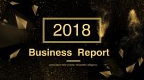 美学黑金年中企业商务可视化通用模板