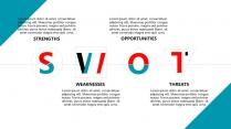 大气创意字母·工作总结PPT模板示例4