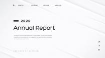 【创意几何】高端黑灰总结报告工作计划商务展示模板