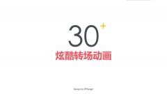 【动态】34个酷炫的PPT转场动画
