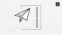 【商务】黑白极简工作通用模板74