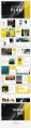 【简约商务】黄色图文混排杂志风工作汇报PPT模板示例5