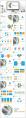 橙蓝画册—高端简约工作总结计划商务PPT示例4