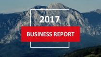 大气创意总结报告工作报告商务策划模板示例2