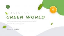 【簡約商務】動態·綠色環保主題商務匯報PPT模板