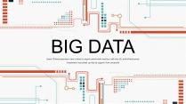 【极致商务】创意科技互联网大数据工作汇报PPT