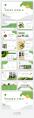 【简约商务】动态·绿色环保主题商务汇报PPT模板示例4
