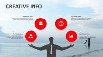 大气创意总结报告工作报告商务策划模板示例6