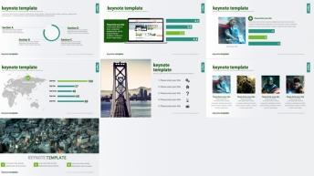 高品质商务keynote模板四示例4