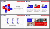 大气画册式公司商务工作通用PPT示例4