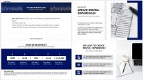 【分条析理A】蓝色科技极简大气商务工作总结年终汇报示例4