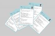 【一页纸简历】HR一眼相中PPT个人简历-172示例4